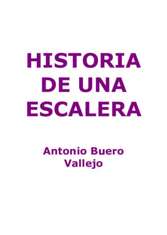 Wuolah Descarga Historia De Una Escalera Pdf Apuntes De Lengua Castellana Y Literatura